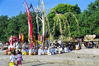 Ceremony, Jimbaranbeach