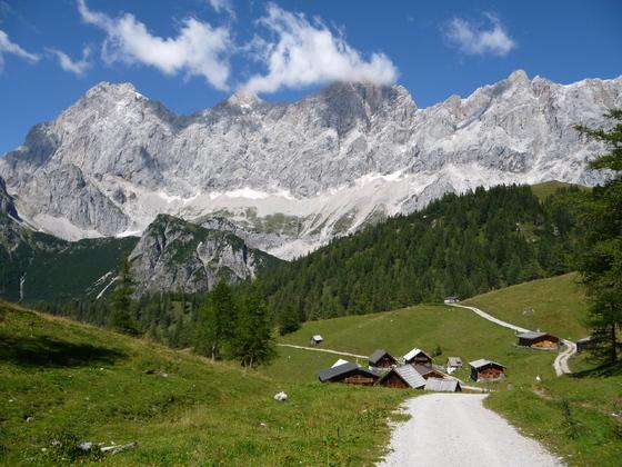 Bilderbuchwetter am Dachstein