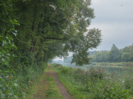 Am Mittellandkanal Ende September