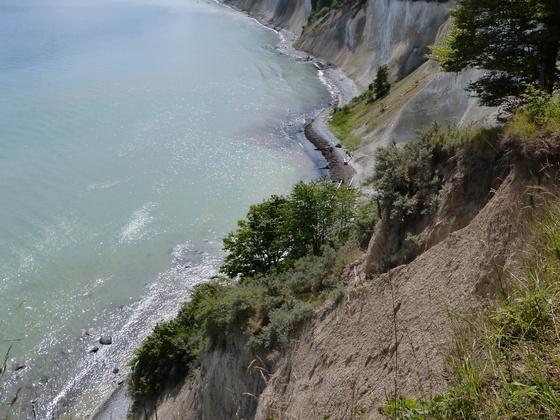 Steilküste am Hochuferweg