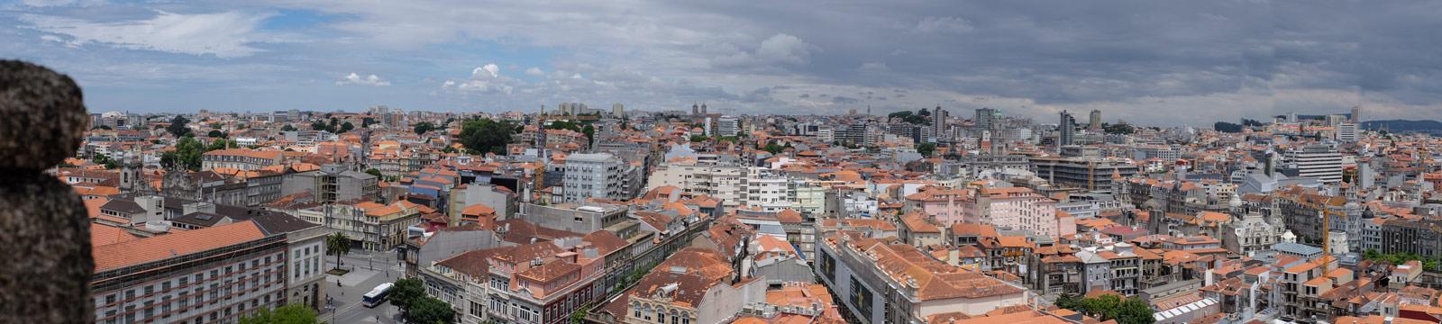 Blick vom Torre dos Clérigos