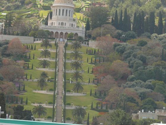 Die hängenden Gärten von Bahia/Haifa