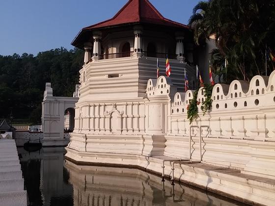 Kandy / Sri Lanka / Zahntempel