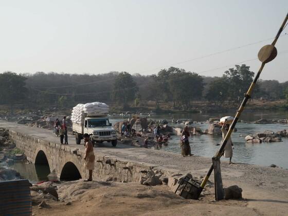 Brücke in Orchha