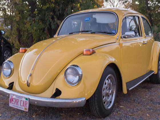Es gibt sie noch die alten Käfer :-)