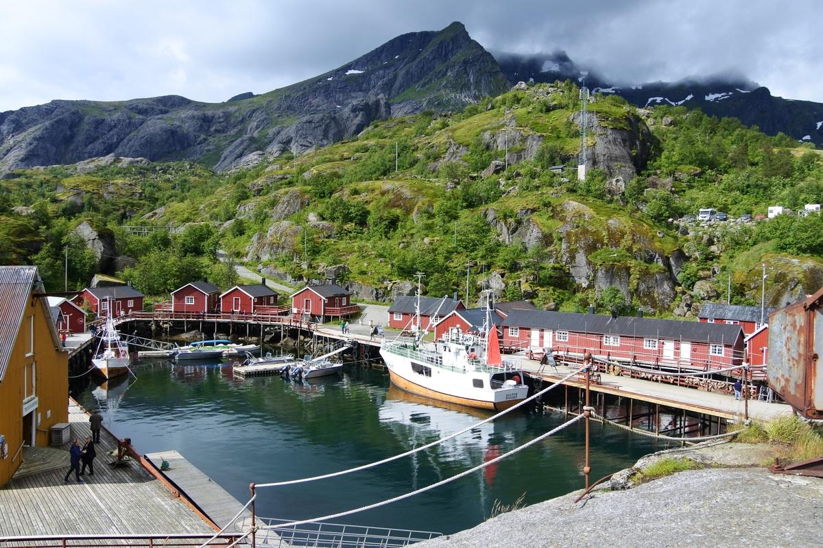 Fischerdorf Nusfjord Lofoten
