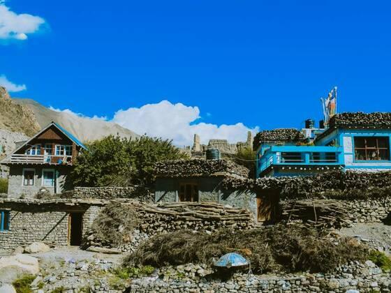 Mustang Village, Nepal