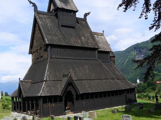 Stabkirche Hoppestad