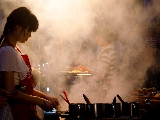 Garküche in Dali (Yunnan, China)