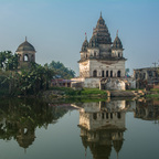 Hindu-Tempel in Puthia, Bangladesh