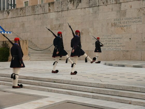 Wachablösung Athen