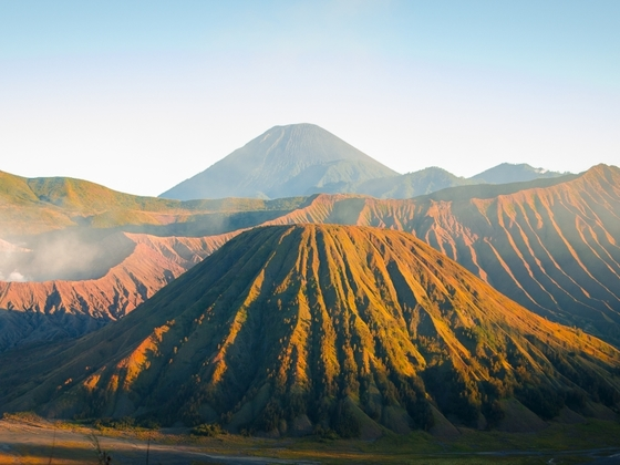 Bromo Tengger Nationalpark (Java, Indonesien)