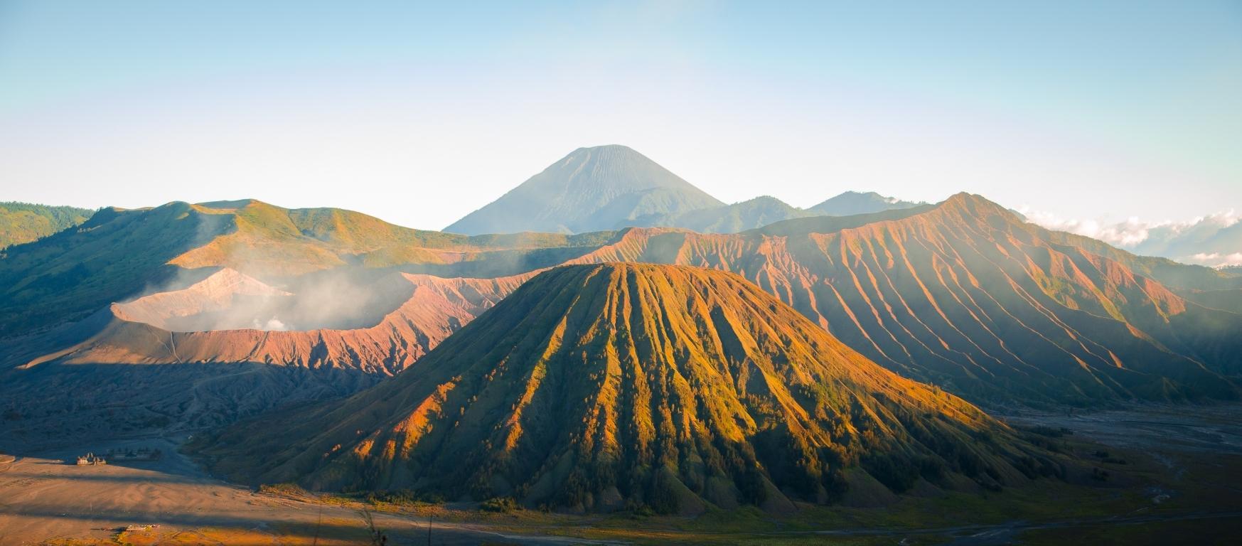 Bromo Tengger Nationalpark (Java, Indonesien)