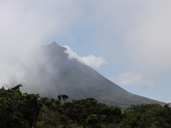 Pico, der höchste Berg der Azoren