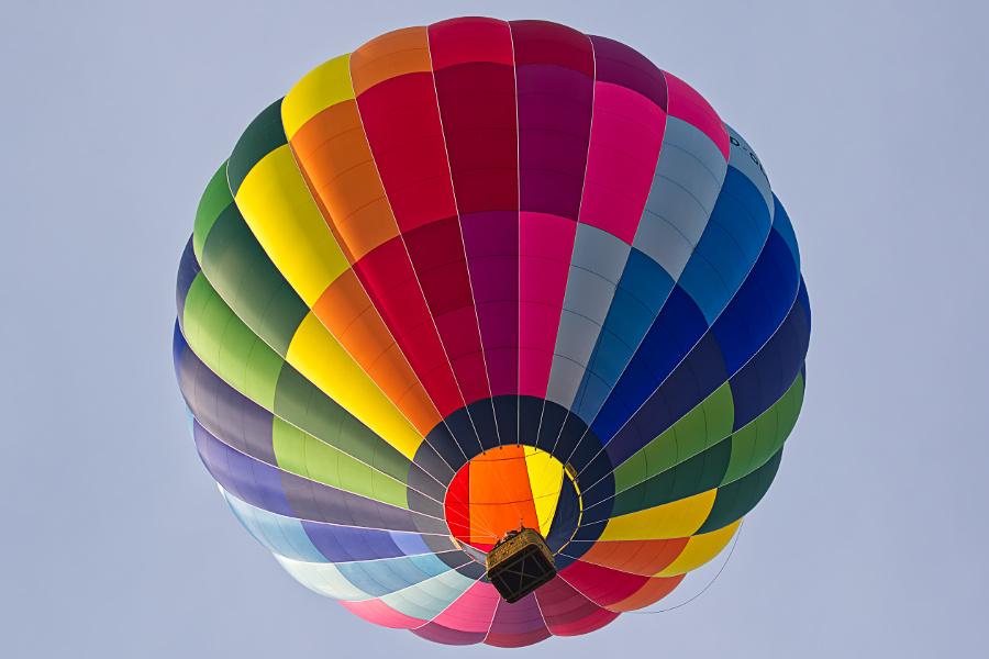 Ballon im Schaumburger Land