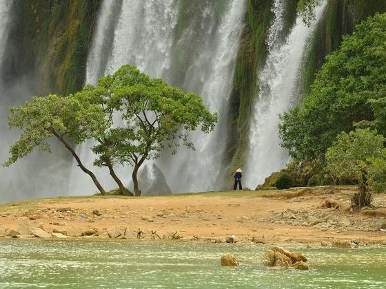 Ban Gioc Wasserfall (Nordvietnam)