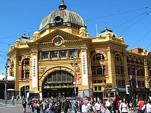 Flinders Station, railway station