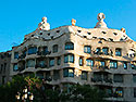 Barcelona, Casa Mila - Click for large image !