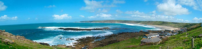 Cornwall, Land`s End  -  Click for large image !